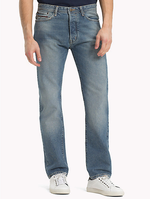 TOMMY JEANS Straight Fit Jeans - CHESTNUT LIGHT BLUE RIGID -  Jeans - main image