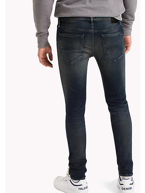 TOMMY JEANS Skinny Fit Jeans - FILLMORE DARK BLUE STRETCH - TOMMY JEANS Jeans - detail image 1