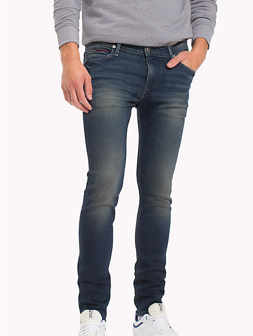 TOMMY JEANS Skinny fit jeans - FILLMORE DARK BLUE STRETCH - TOMMY JEANS Jeans - main image