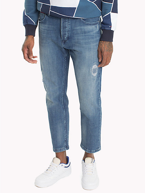 TOMMY JEANS Jean court straight fit - CROSSY LIGHT BLUE COMFORT - TOMMY JEANS Jeans - image principale