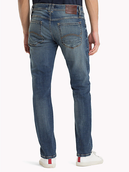 TOMMY JEANS Tapered Fit Jeans - CROSSY MID BLUE COMFORT - TOMMY JEANS Jeans - detail image 1