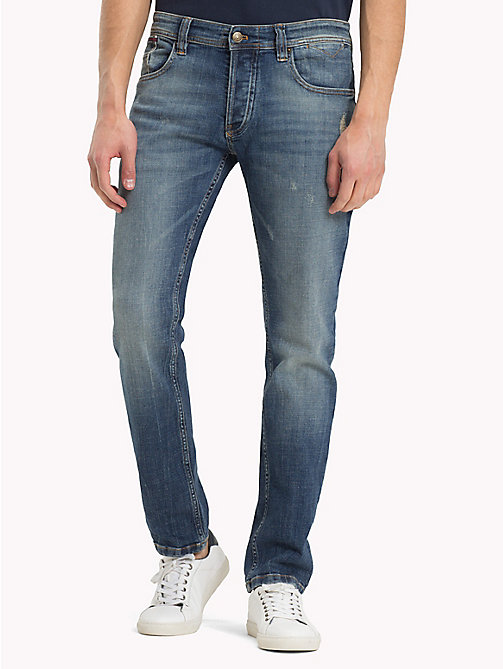 TOMMY JEANS Tapered Fit Jeans - CROSSY MID BLUE COMFORT -  Jeans - main image