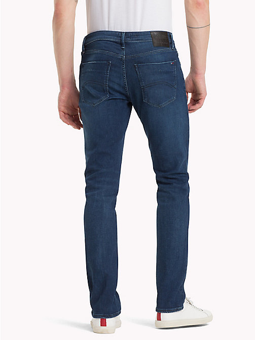 TOMMY JEANS Slim Fit Jeans - DOGWOOD DARK BLUE STRETCH - TOMMY JEANS Jeans - detail image 1