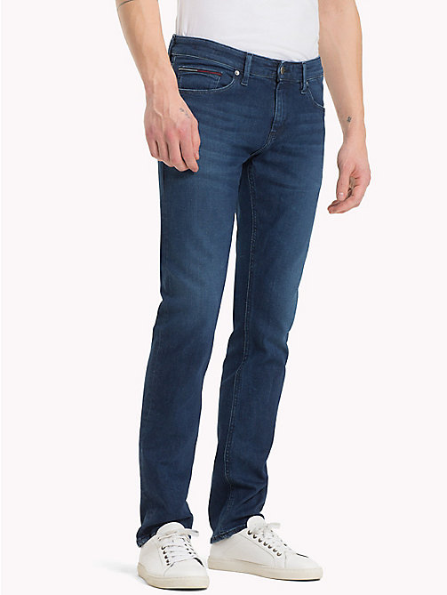 TOMMY JEANS Slim Fit Jeans - DOGWOOD DARK BLUE STRETCH - TOMMY JEANS Jeans - main image