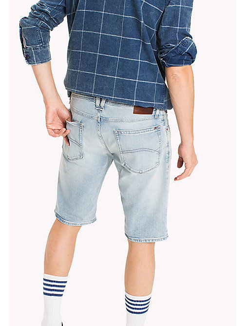 TOMMY JEANS Shorts regular fit in denim - RIVER LIGHT BLUE COMFORT - TOMMY JEANS Pantaloni - dettaglio immagine 1