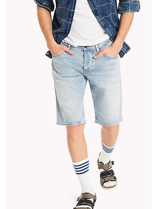 TOMMY JEANS Denim Regular Fit Shorts - RIVER LIGHT BLUE COMFORT - TOMMY JEANS Trousers & Shorts - main image