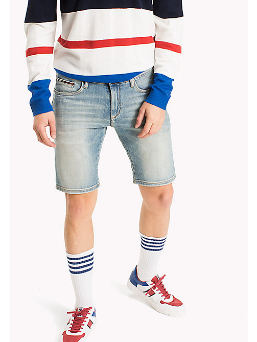 TOMMY JEANS Shorts slim fit in denim - ILLINOIS LIGHT BLUE STRETCH - TOMMY JEANS Pantaloni - immagine principale