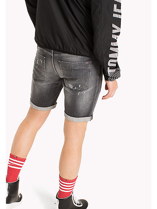 TOMMY JEANS Shorts slim fit in denim stretch - ILLINOIS GREY STRETCH - TOMMY JEANS Pantaloni - dettaglio immagine 1