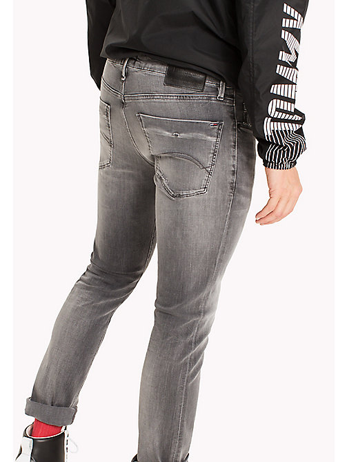 TOMMY JEANS Slim Fit Jeans - SPRINGFIELD GREY STRETCH - TOMMY JEANS TOMMY JEANS MEN - detail image 1