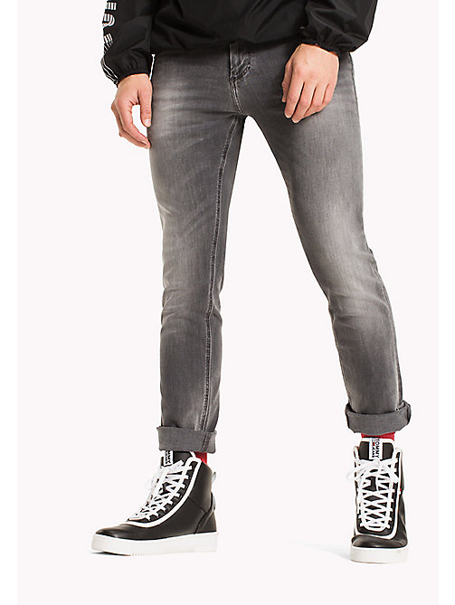 TOMMY JEANS Slim Fit Jeans - SPRINGFIELD GREY STRETCH - TOMMY JEANS TOMMY JEANS MEN - main image
