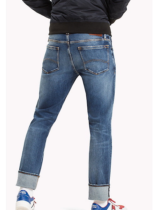 TOMMY JEANS Straight Fit Jeans - RIVER MID BLUE COMFORT - TOMMY JEANS Clothing - detail image 1