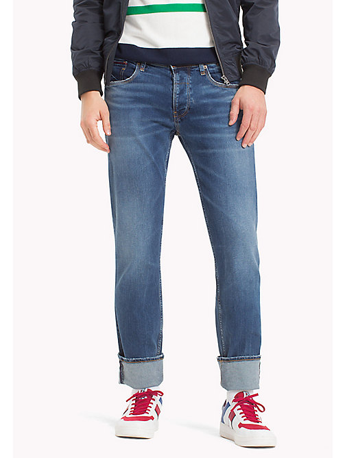 TOMMY JEANS Straight Fit Jeans - RIVER MID BLUE COMFORT - TOMMY JEANS MEN - main image