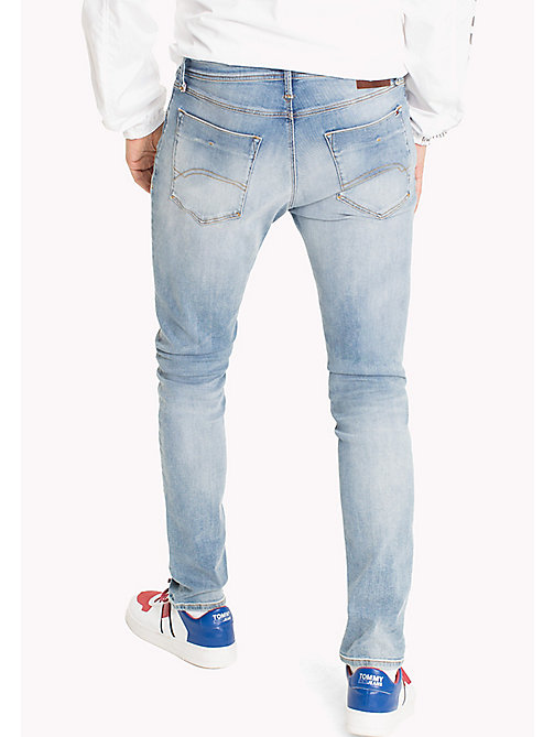 TOMMY JEANS Tapered Slim Fit Jeans - SPRINGFIELD LIGHT BLUE STRETCH - TOMMY JEANS TOMMY JEANS MEN - detail image 1