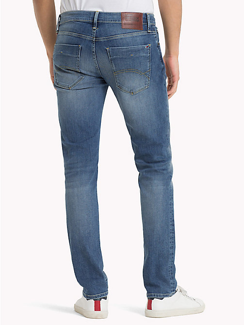 TOMMY JEANS Slim Fit Jeans - SPRINGFIELD MID BLUE STRETCH - TOMMY JEANS TOMMY JEANS MEN - detail image 1
