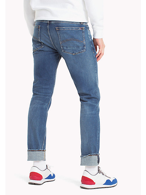 TOMMY JEANS Tapered Fit Jeans - RIVER MID BLUE COMFORT - TOMMY JEANS Men - detail image 1