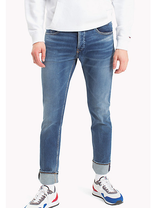 TOMMY JEANS Tapered Fit Jeans - RIVER MID BLUE COMFORT - TOMMY JEANS Men - main image