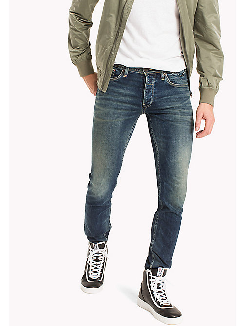 TOMMY JEANS Straight Fit Jeans - RIVER DARK BLUE COMFORT - TOMMY JEANS Clothing - main image