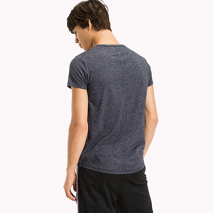 TOMMY JEANS Slim Fit T-Shirt - TOMMY BLACK - TOMMY JEANS Kleidung - main image 1
