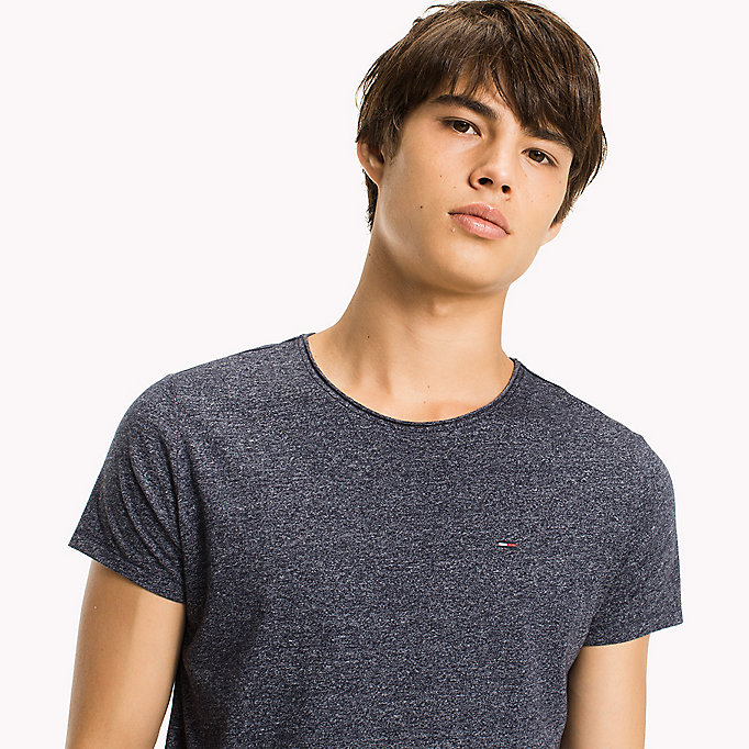 TOMMY JEANS Slim Fit T-Shirt - CAMEO BLUE - TOMMY JEANS Men - detail image 2
