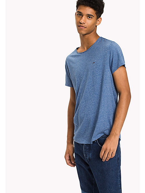 TOMMY JEANS Slim Fit T-Shirt - BLUE HORIZON - TOMMY JEANS Men - main image