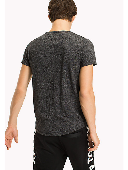 TOMMY JEANS Slim Fit T-Shirt - TOMMY BLACK - TOMMY JEANS T-Shirts & Polos - detail image 1