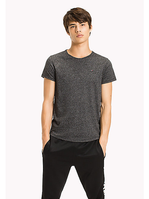 TOMMY JEANS Slim Fit T-Shirt - TOMMY BLACK -  T-Shirts & Polos - main image