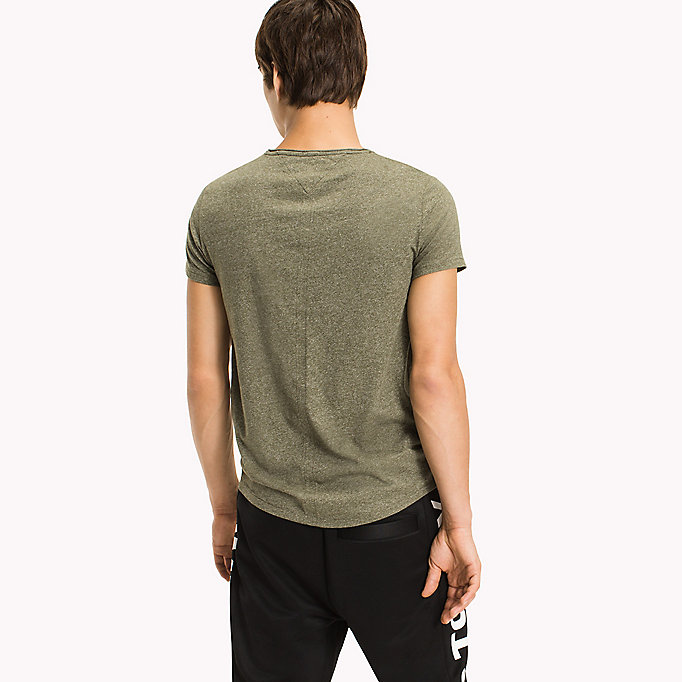 TOMMY JEANS Slim Fit T-Shirt - THYME - TOMMY JEANS Men - detail image 1