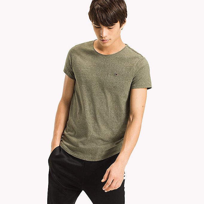 TOMMY JEANS Slim Fit T-Shirt - THYME - TOMMY JEANS Men - main image