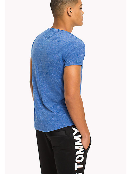 TOMMY JEANS Slim fit T-shirt - NAUTICAL BLUE - TOMMY JEANS T-Shirts &  Polo's - detail image 1