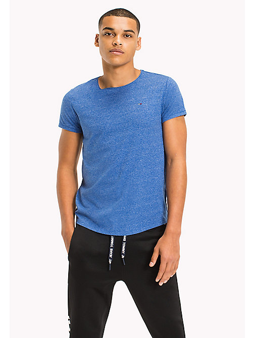 TOMMY JEANS Slim Fit T-Shirt - NAUTICAL BLUE - TOMMY JEANS T-Shirts & Polos - main image