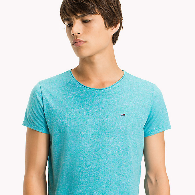 TOMMY JEANS Slim Fit T-Shirt - BLUE HORIZON - TOMMY JEANS Men - detail image 2