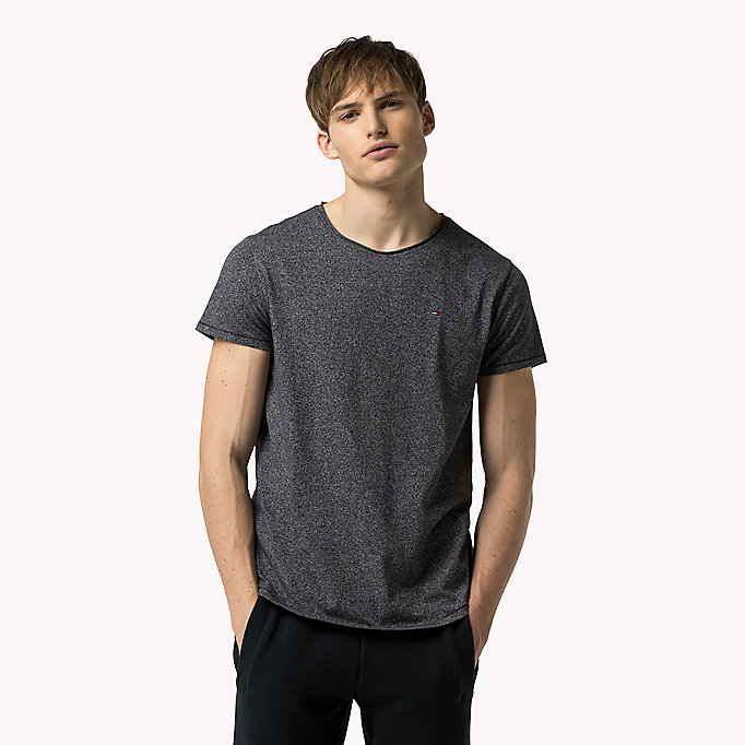 TOMMY JEANS Slim Fit T-Shirt - BLUE HORIZON - TOMMY JEANS Kleidung - main image 2