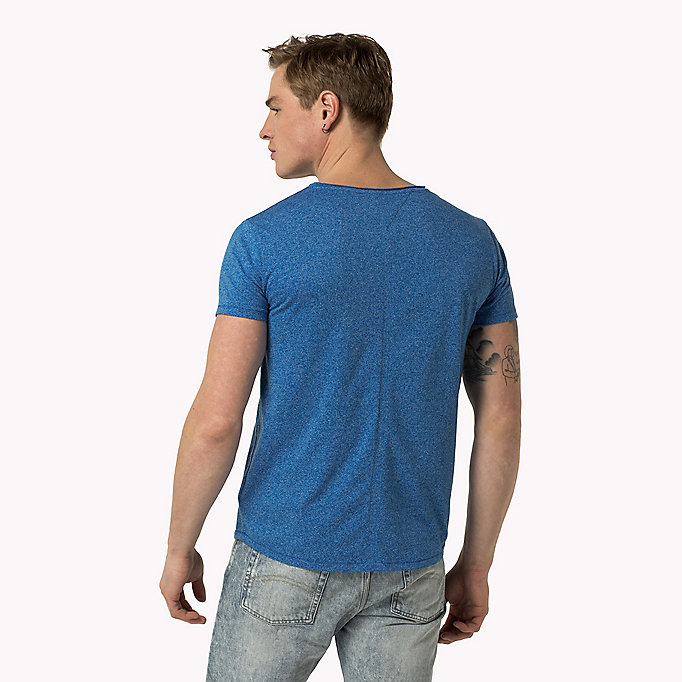 TOMMY JEANS Slim Fit T-Shirt - WINDSOR WINE - TOMMY JEANS Kleidung - main image 1