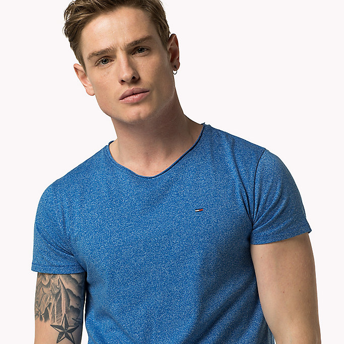 TOMMY JEANS Slim Fit T-Shirt - WINDSOR WINE - TOMMY JEANS Kleidung - main image 2