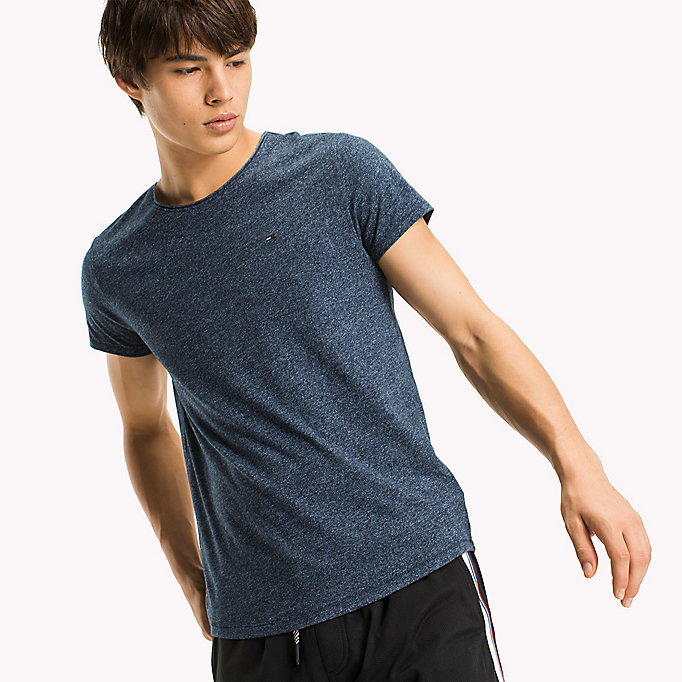 TOMMY JEANS Slim fit T-shirt - FOREST NIGHT? - TOMMY JEANS Heren - main image