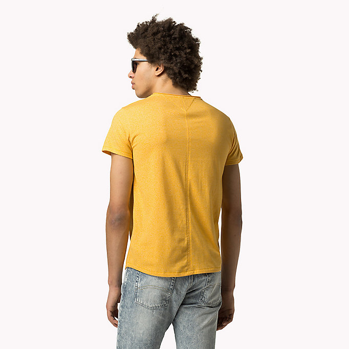 TOMMY JEANS Slim Fit T-Shirt - SPICY ORANGE - TOMMY JEANS Kleidung - main image 1