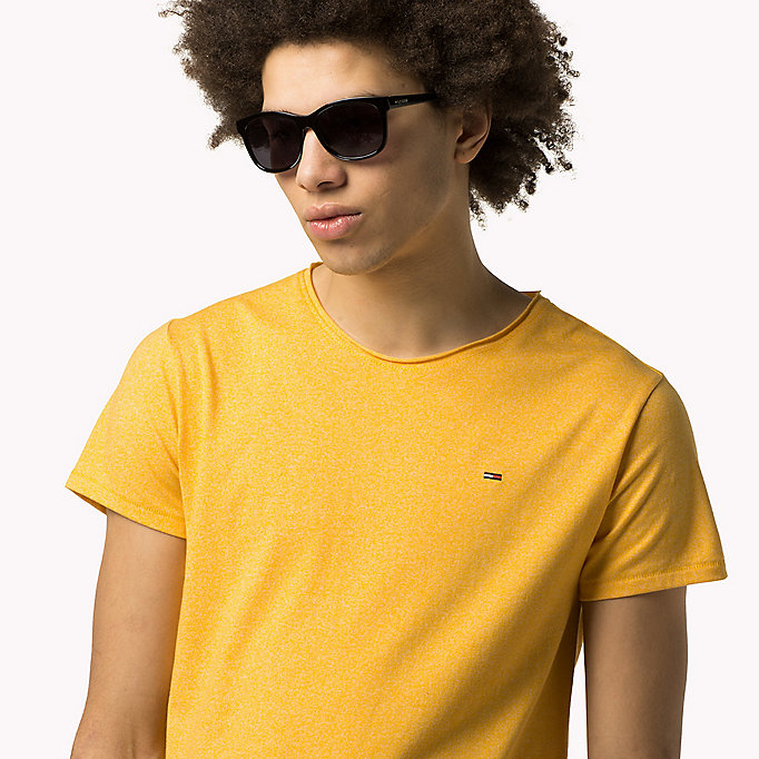 TOMMY JEANS Slim Fit T-Shirt - SPICY ORANGE - TOMMY JEANS Kleidung - main image 2
