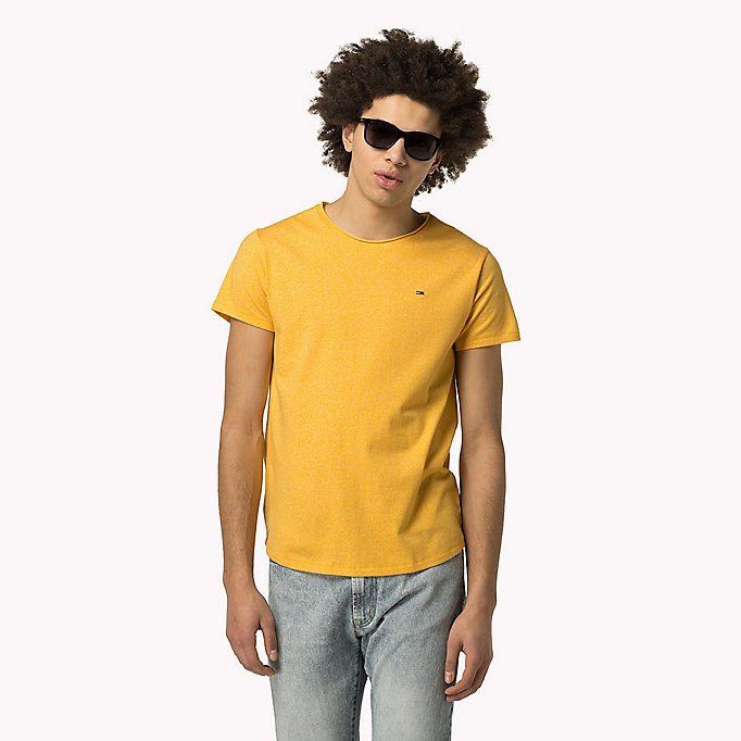 TOMMY JEANS Slim Fit T-Shirt - SPICY ORANGE - TOMMY JEANS Kleidung - main image