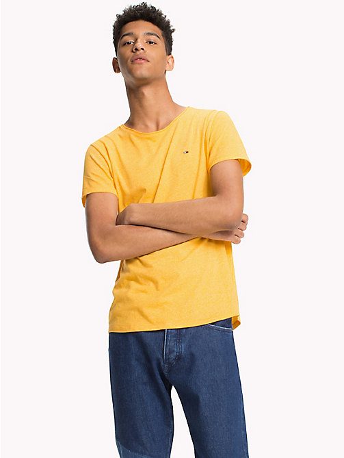 TOMMY JEANS Slim Fit T-Shirt - ARTISANS GOLD - TOMMY JEANS Men - main image