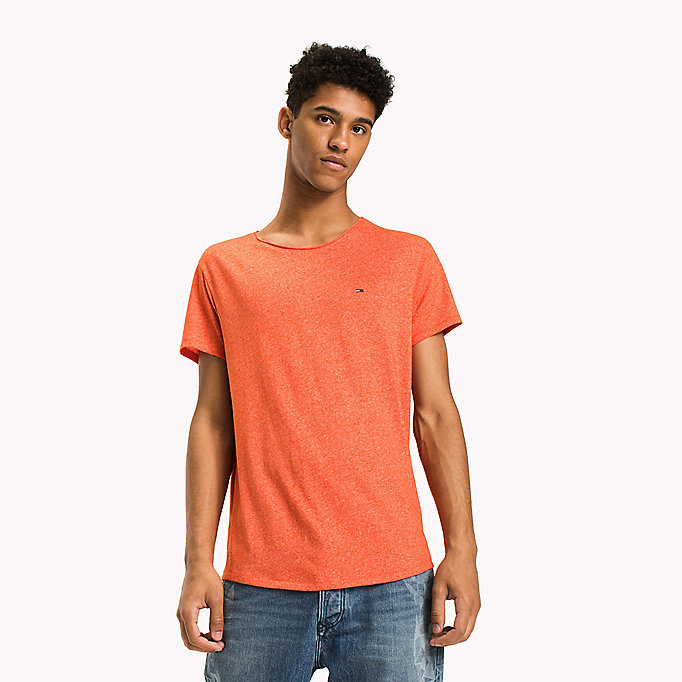 TOMMY JEANS Slim Fit T-Shirt - AMBER GOLD - TOMMY JEANS Kleidung - main image