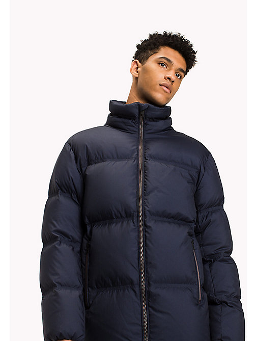 TOMMY JEANS Nylon Down Jacket - BLACK IRIS -  Coats & Jackets - main image