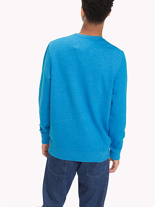 TOMMY JEANS French Terry Sweatshirt - INDIGO BUNTING - TOMMY JEANS Sweatshirts & Hoodies - detail image 1