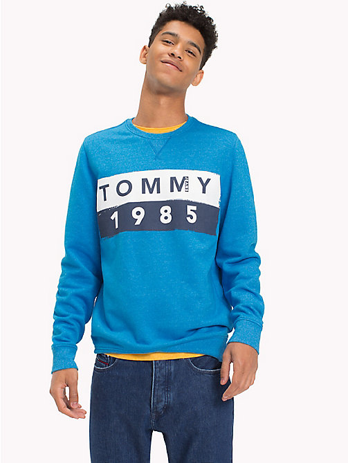 TOMMY JEANS French Terry Sweatshirt - INDIGO BUNTING - TOMMY JEANS Sweatshirts & Hoodies - main image