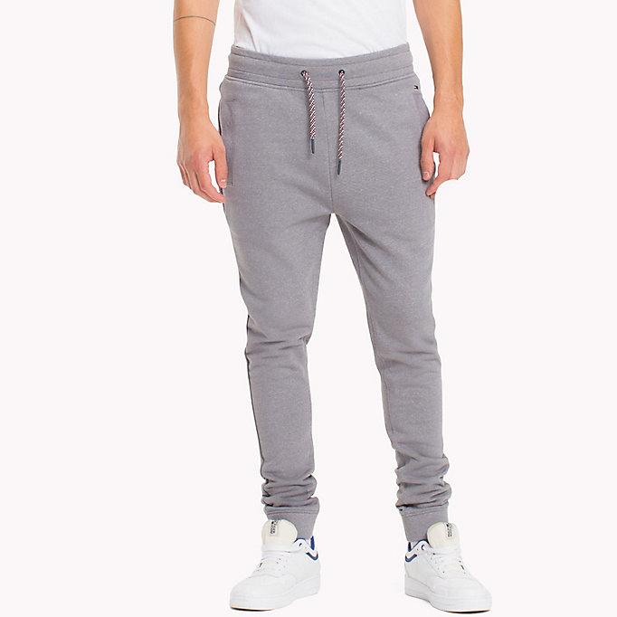 TOMMY JEANS French Terry Sweatpants - BLACK IRIS - TOMMY JEANS Men - main image