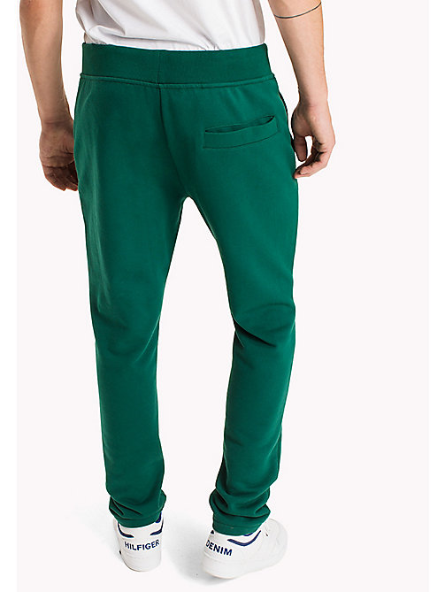 TOMMY JEANS Terry Retro Sweatpants - EVERGREEN - TOMMY JEANS Trousers - detail image 1