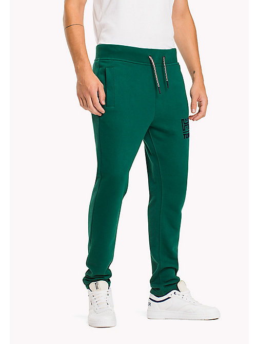 TOMMY JEANS Terry Retro Sweatpants - EVERGREEN - TOMMY JEANS Trousers - main image
