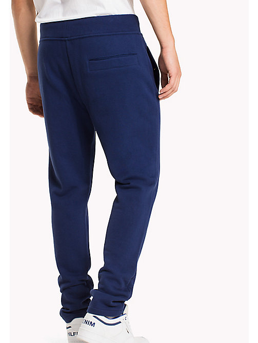 TOMMY JEANS Terry Retro Sweatpants - BLUE DEPTHS - TOMMY JEANS Trousers - detail image 1