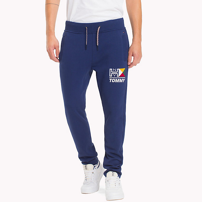 TOMMY JEANS Terry Retro Sweatpants - EVERGREEN - TOMMY JEANS Men - main image
