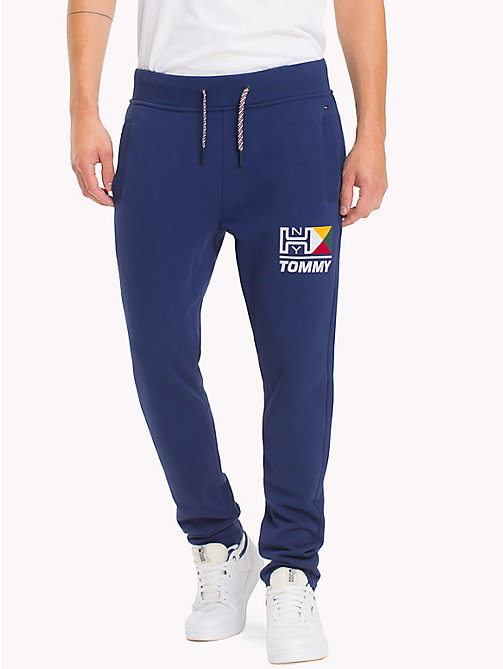 TOMMY JEANS Terry Retro Sweatpants - BLUE DEPTHS - TOMMY JEANS Trousers - main image
