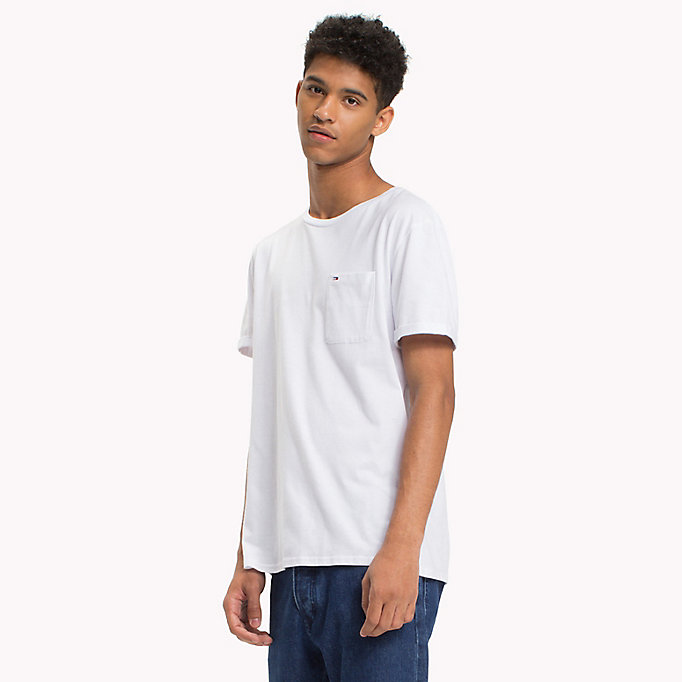 TOMMY JEANS Jersey Crew Neck T-Shirt - THYME - TOMMY JEANS Clothing - main image